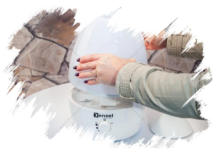 Ultrasonic Humidifier Kenzel آموزش استفاده از دستگاه بخور سرد اولتراسونیک
