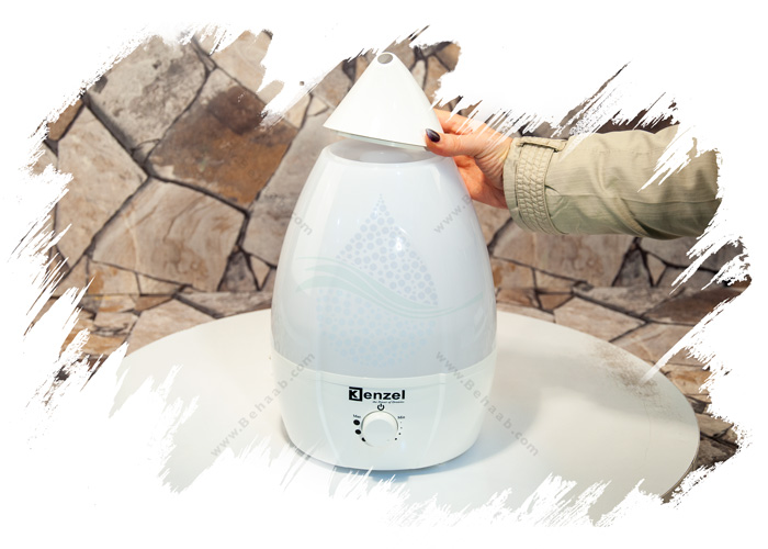 Ultrasonic Humidifier Kenzel بخار ساز اولتراسونیک