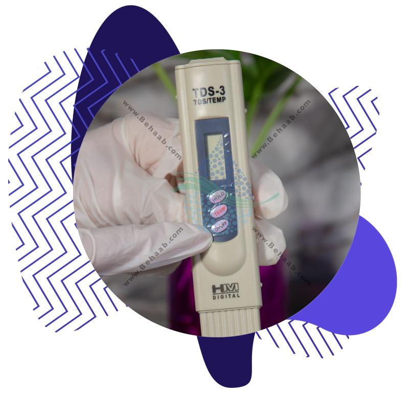 Using Digital TDS Meter آموزش کار با دستگاه سختی سنج آب