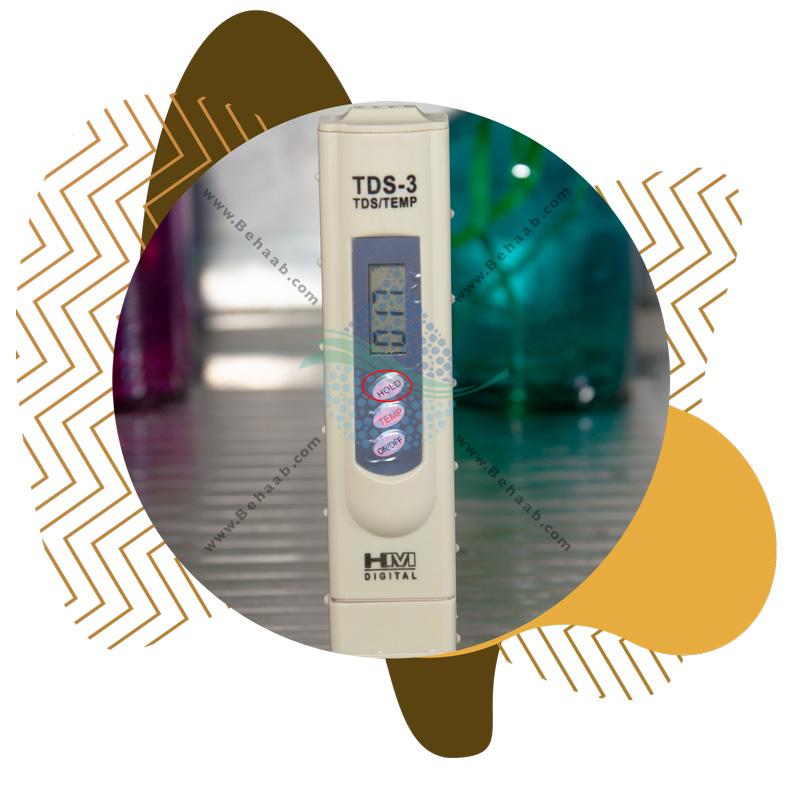 Using Digital TDS Meter اندازه گیری تی دی اس آب