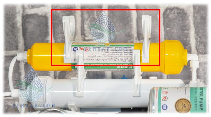 Water Filter Clamp پایه فیلتر تصفیه آب