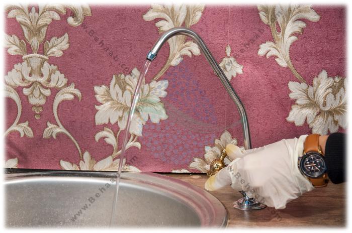 Faucet Reverse Osmosis water purifier شیر برداشت تصفیه آب
