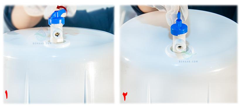 Ball Valves for Reverse Osmosis Tanks شیر مخزن دستگاه تصفیه آب