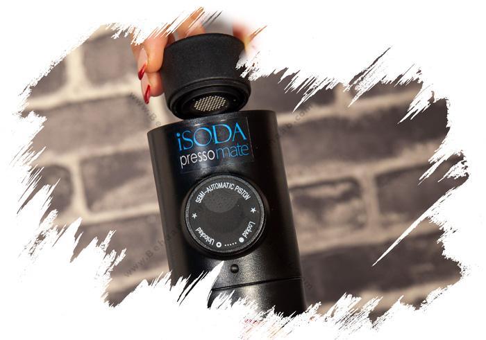 iSODA PressoMate Espresso Maker طرز استفاده از اسپرسوساز مسافرتی