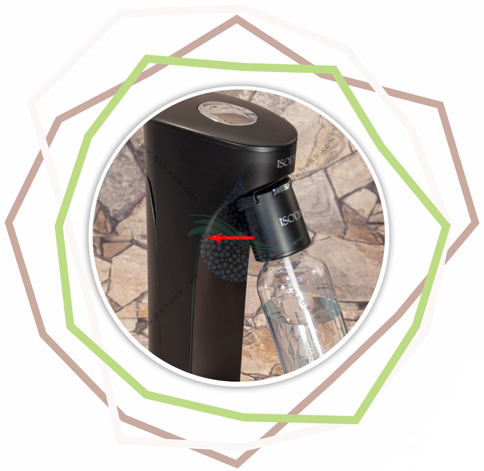 iSODA Sparkling Water and Soda Maker Carbonating Beverage Machine آموزش گازدار کردن نوشیدنی با دستگاه درینک میت آی سودا