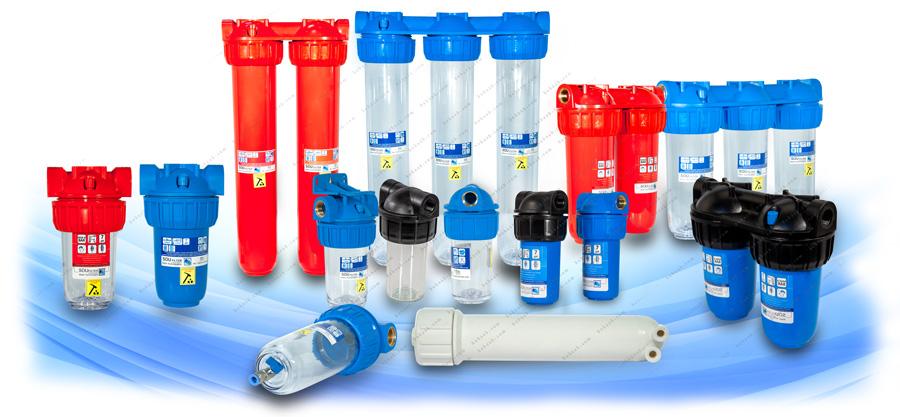 Soufilter Water Filter Housing انواع هوزینگ تصفیه آب سوفیلتر