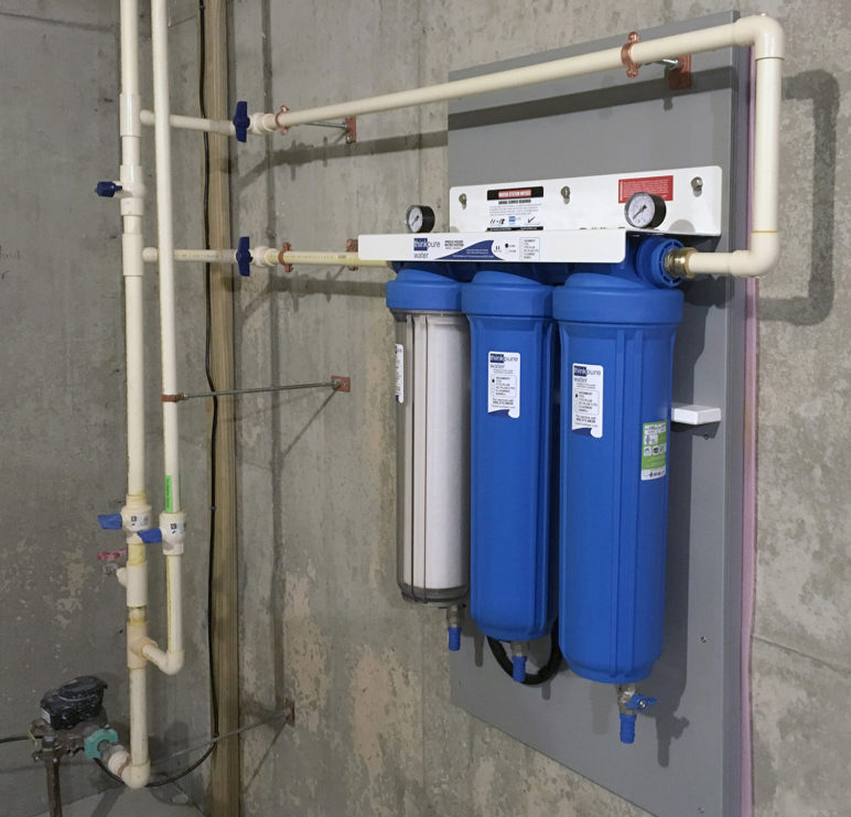 Whole House Water Filters تصفیه آب پشت کنتور